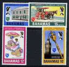 Bahamas 1968 Commonwealth Parliamentary Conference perf set of 4 unmounted mint, SG 323-26