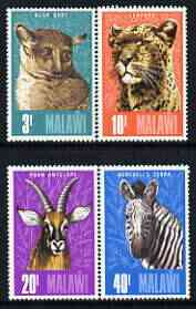 Malawi 1975 Animals perf set of 4 unmounted mint, SG 496-99