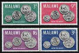 Malawi 1965Malawi's First Coinage perf set of 4 unmounted mint, SG 232-35