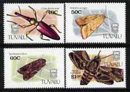 Tuvalu 1991 Insects perf set of 4 unmounted mint, SG 601-604*