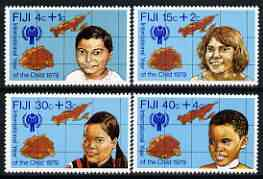Fiji 1979 International Year of the Child perf set of 4 unmounted mint, SG 576-79