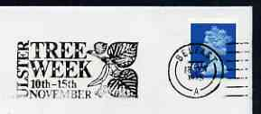 Postmark - Great Britain 1975 cover bearing illustrated slogan cancellation for Tree Week