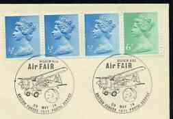 Postmark - Great Britain 1978 cover bearing illustrated cancellation for Biggin Hill Air Fair, (BFPS)