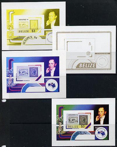Belize 1984 Stamp on Stamp