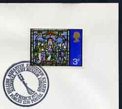 Postmark - Great Britain 1972 cover bearing illustrated cancellation for British Ashantee Exhibition, National Army Museum (BFPS)
