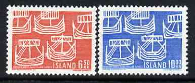 Iceland 1969 50th Anniversary of Northern Countries