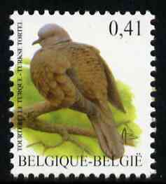 Belgium 2002-09 Birds #5 Collared Dove 0.41 Euro unmounted mint, SG 3701