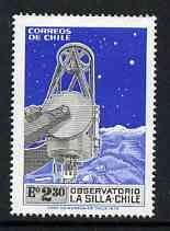 Chile 1973  Inauguration of La Silla Observatory unmounted mint, SG 708*