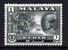 Malaya - Kedah 1959 Copra 1c (from def set) unmounted mint, SG 104