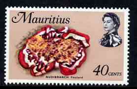 Mauritius 1969-73 Spanish Dancer 40c glazed paper (from def set) unmounted mint, SG 392a