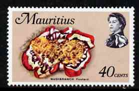 Mauritius 1969-73 Spanish Dancer 40c chalky paper (from def set) unmounted mint, SG 392
