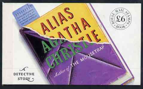 Booklet - Great Britain 1991 Alias Agatha Christie \A36 Prestige booklet complete and very fine, SG DX12