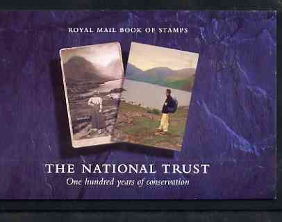 Booklet - Great Britain 1995 Centenary of the National Trust \A36 Prestige booklet complete and very fine, SG DX17