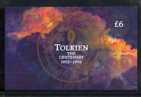 Booklet - Great Britain 1992 Birth Centenary of Tolkien (author) \A36 Prestige booklet complete and very fine, SG DX14