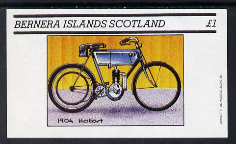 Bernera 1982 Motor Cycles (1904 Hobart) imperf souvenir sheet (�1 value) unmounted mint