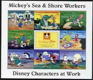 St Vincent - Grenadines 1996 Disney Characters at Work - Mickey