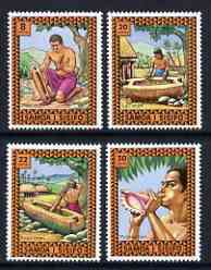 Samoa 1975 Musical Instruments set of 4 unmounted mint, SG 450-53