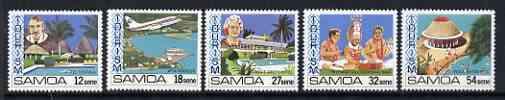 Samoa 1981 Tourism set of 4 unmounted mint SG 594-98