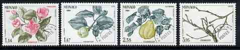 Monaco 1984 The Seasons of the Quince precancelled set of 4 unmounted mint, SG 1678-81