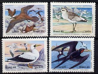Brazil 1985 National Marine Park (Sea Birds) set of 4 unmounted mint, SG 2168-71