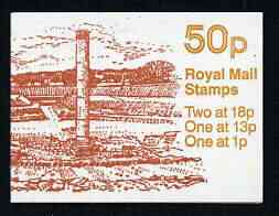 Booklet - Great Britain 1986 Roman Britain No.2 (Roman Theatre, St Albans) 50p booklet complete, SG FB37