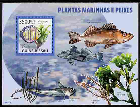 Guinea - Bissau 2009 Marine Plants & Fishes perf s/sheet unmounted mint Yv 457