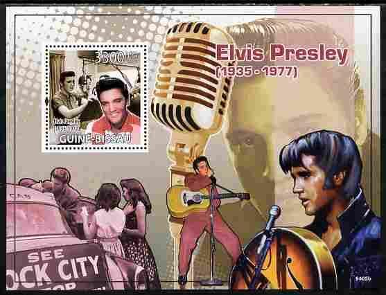 Guinea - Bissau 2009 Elvis presley perf s/sheet unmounted mint Yv 458