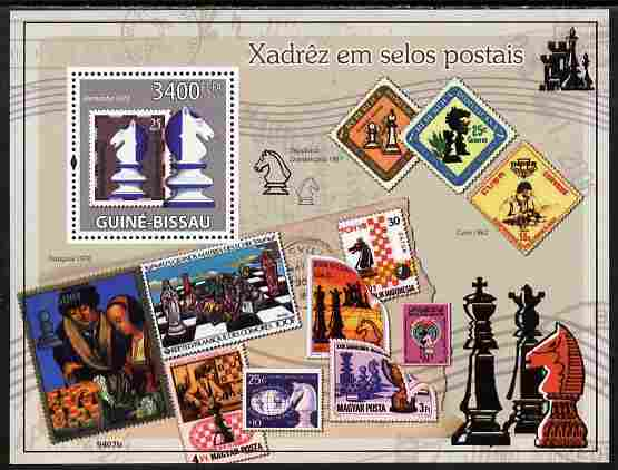 Guinea - Bissau 2009 Chess on Stamps perf s/sheet unmounted mint Yv 460