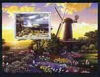 Benin 2003 Paintings of Windmills #04 perf m/sheet unmounted mint
