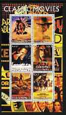 Eritrea 2003 Classic Movie (Posters) #2 perf sheetlet containing set of 6 values unmounted mint