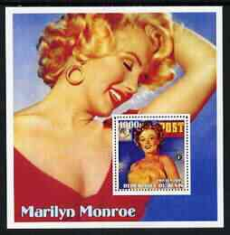 Benin 2003 Marilyn Monroe #6 perf m/sheet (Cover of Post) unmounted mint
