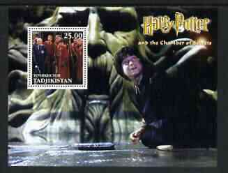 Tadjikistan 2002 Harry Potter & Chamber of Secrets #2 perf m/sheet unmounted mint