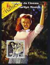 Congo 2003 History of the Cinema - Marilyn Monroe #1 perf m/sheet (Me Naiset Magazine) unmounted mint