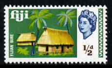 Fiji 1968 Bure Huts 1/2d (from def set) unmounted mint, SG 371