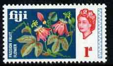 Fiji 1968 Passion Flowers 1d (from def set) unmounted mint, SG 372