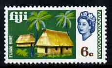 Fiji 1969-70 Bure Huts 6c (from def set) unmounted mint, SG 396