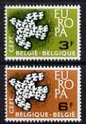 Belgium 1961 Europa set of 2 unmounted mint, SG 1793-94*