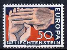 Liechtenstein 1962 Europa 50r unmounted mint, SG 413