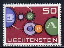 Liechtenstein 1961 Europa 50r unmounted mint, SG 412