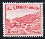 Pakistan 1961 Khyber Pass 2p rose-red (inscribed Shakistan) unmounted mint, SG 129*