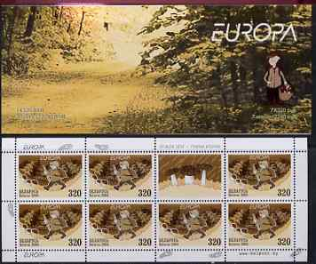 Booklet - Belarus 2004 Europa 2240r booklet (Fungi) complete and pristine