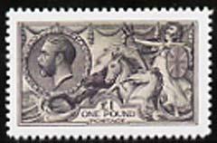 Great Britain 1913-19 Seahorse �1