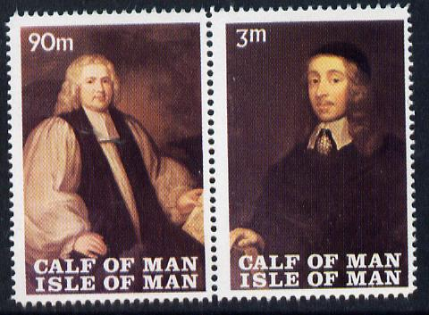 Calf of Man 1968 Paintings from Manx Museum #3 perf set of 2 unmounted mint (Rosen CA120-21)