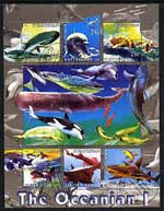 Kyrgyzstan 2004 Fauna of the World - Oceania #1 perf sheetlet containing 6 values cto used