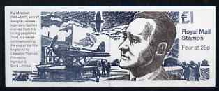 Booklet - Great Britain 1995 50th Anniversary of End of World War II #3 (R J Mitchell) �1 booklet complete, SG FH38
