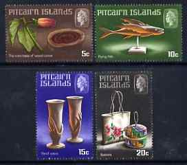 Pitcairn Islands 1968 Handicrafts (1st series) perf set of 4 unmounted mint, SG 88-91