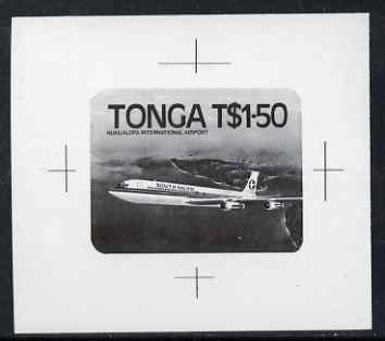 Tonga 1983 Boeing 707 1p50 (from Niuafo