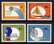 Papua New Guinea 1971 Fourth South Pacific Games set of 4 unmounted mint, SG 200-03