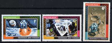Trinidad & Tobago 1969 1st Man on the Moon set of 3 unmounted mint, SG 361-63