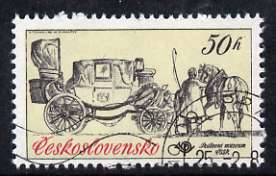 Czechoslovakia 1981 50h Landau from Historic Coaches in Postal Museum set of 5, fine cto used, SG 2557